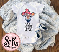 New To The Herd Cow Sublimation/Printable PNG Design (2019)