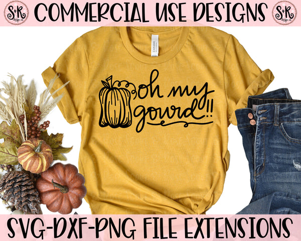 Oh My Gourd SVG DXF PNG (2020)
