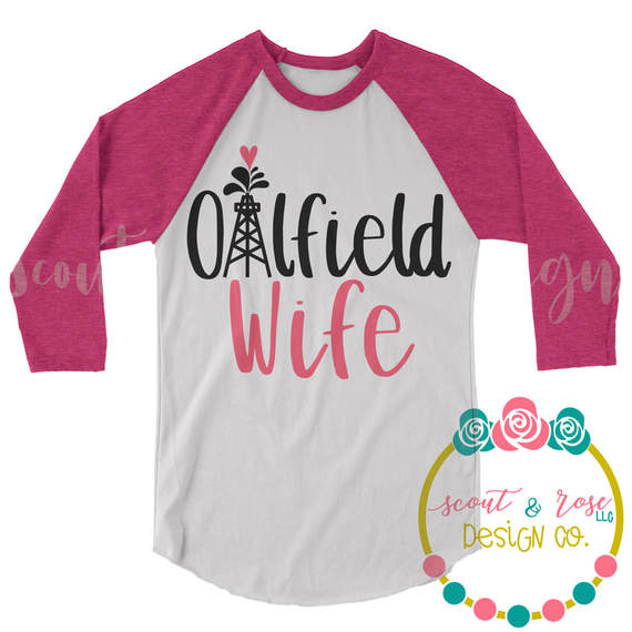 Oilfield Wife SVG DXF PNG