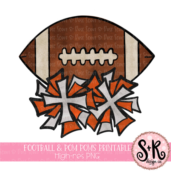 photograph about Football Printable known as Soccer Pom Poms Printable Style and design (2019)