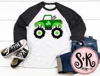 St Paddys Monster Truck SVG DXF PNG (2019)