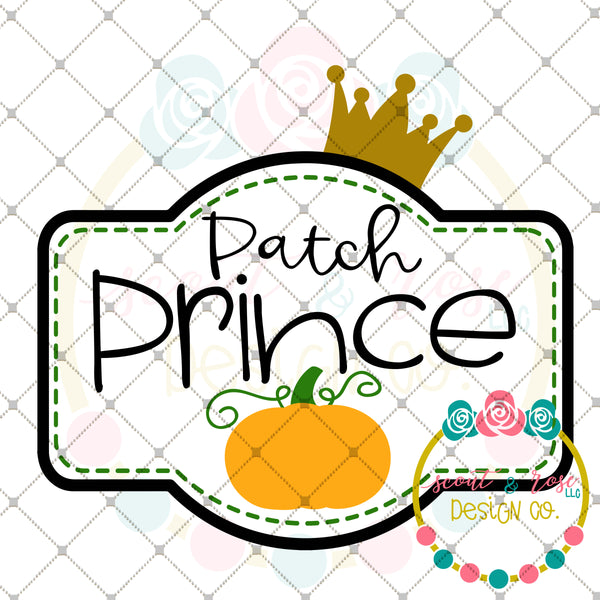 Patch Prince SVG DXF PNG