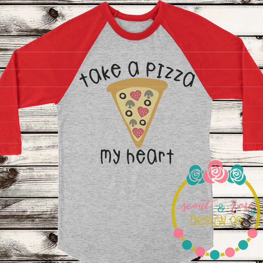 Pizza My Heart SVG DXF PNG