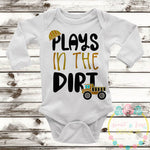 Plays In The Dirt SVG DXF PNG