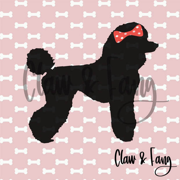 Claw & Fang Poodle Cut File