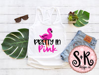 Pretty In Pink Flamingo SVG DXF PNG (2019)