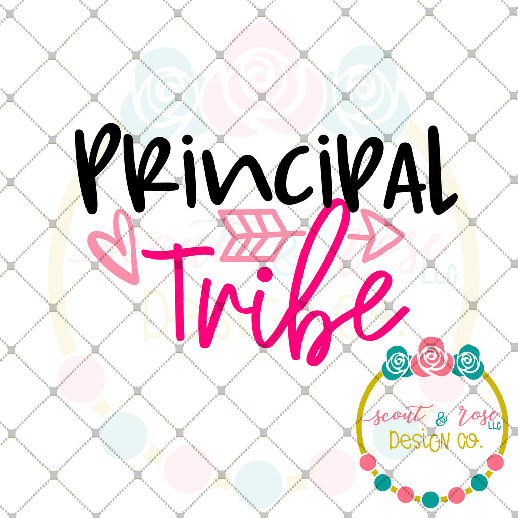 Principal Tribe SVG DXF PNG