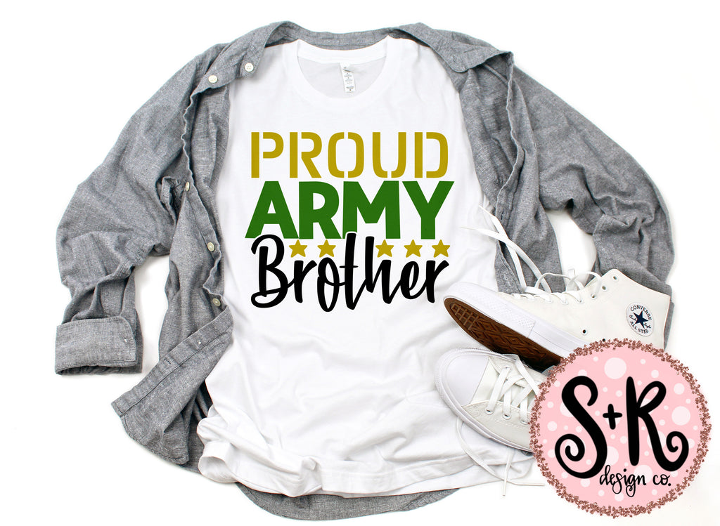 Proud Army Brother SVG DXF PNG (2019)