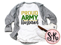 Proud Army Husband SVG DXF PNG (2019)