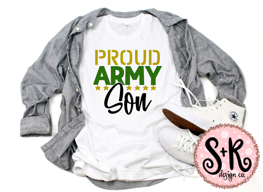 Proud Army Son SVG DXF PNG (2019)