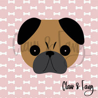 Claw & Fang Pug Cut File