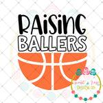 Raising Ballers (Basketball) SVG DXF PNG