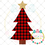 Buffalo Plaid Christmas Tree Printable Design (2018)