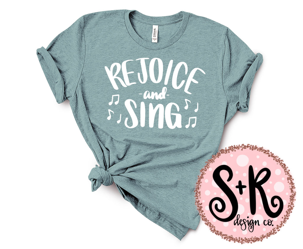 Rejoice and Sing SVG DXF PNG (2019)