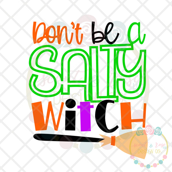 Salty Witch SVG DXF PNG