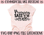 Sass To The Class SVG DXF PNG (2020)