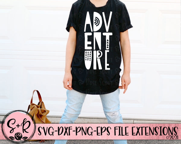 Adventure SVG DXF PNG (2019)