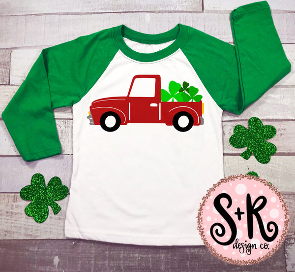 St. Paddy's Red Truck SVG DXF PNG (2019)