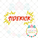 Superhero Sidekick SVG DXF PNG