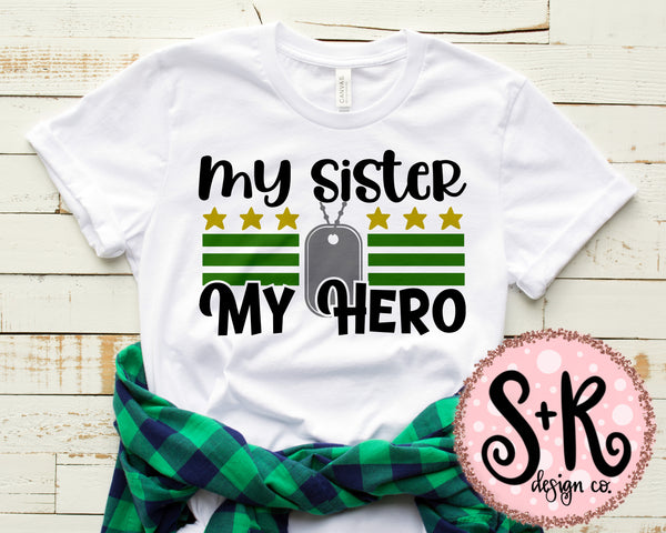 My Sister My Hero SVG DXF PNG (2019)