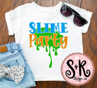 Slime Party SVG DXF PNG (2019)