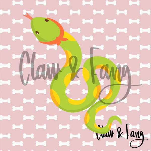Claw & Fang Snake Cut File