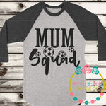 Football Mum Squad SVG DXF PNG