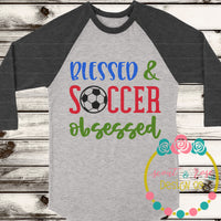 Soccer Obsessed SVG DXF PNG