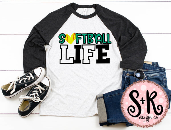 Softball Life SVG DXF PNG (2019)