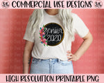 Senior 2020 Floral Printable Design (2020)