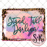 Flamingo Stand Tall Darling Printable Design (2019)
