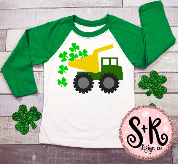 St. Paddy's Dump Truck SVG DXF PNG (2019)