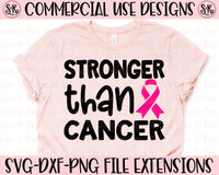 Stronger Than Cancer SVG DXF PNG (2020)