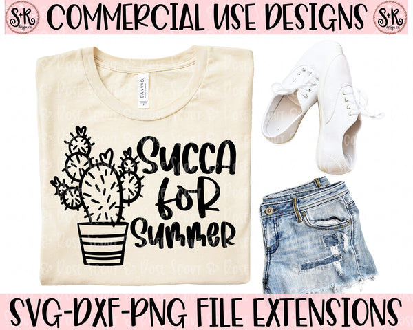 Succa For Summer SVG DXF PNG (2020)