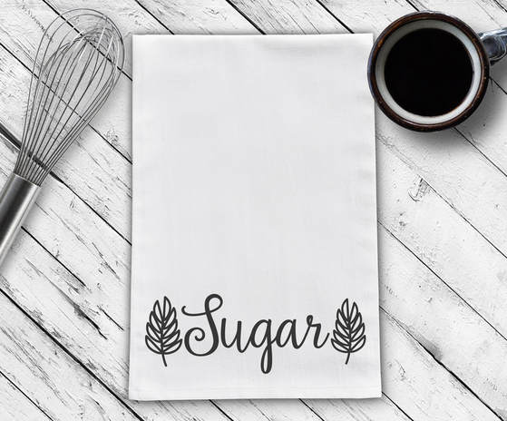 Sugar Tea Towel Design Cut File