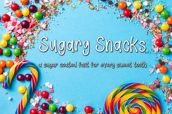 Sugary Snacks Font