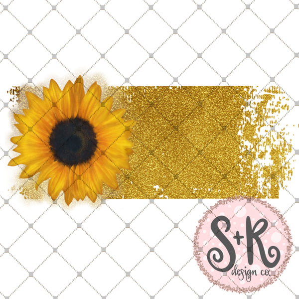 photograph regarding Printable Sunflower titled Sunflower Banner Printable/Printable PNG (2019)