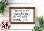 Sunshine In My Soul SVG DXF PNG (2019)