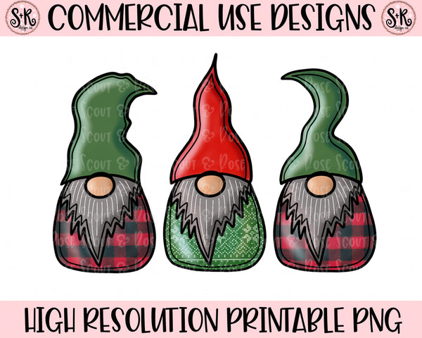 Christmas Gnomes Printable Design (2019)