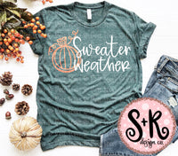 Sweater Weather SVG DXF PNG (2019)