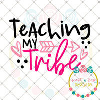Teaching My Tribe SVG DXF PNG