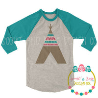 Teepee SVG DXF PNG