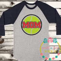 Tennis Mom SVG DXF PNG