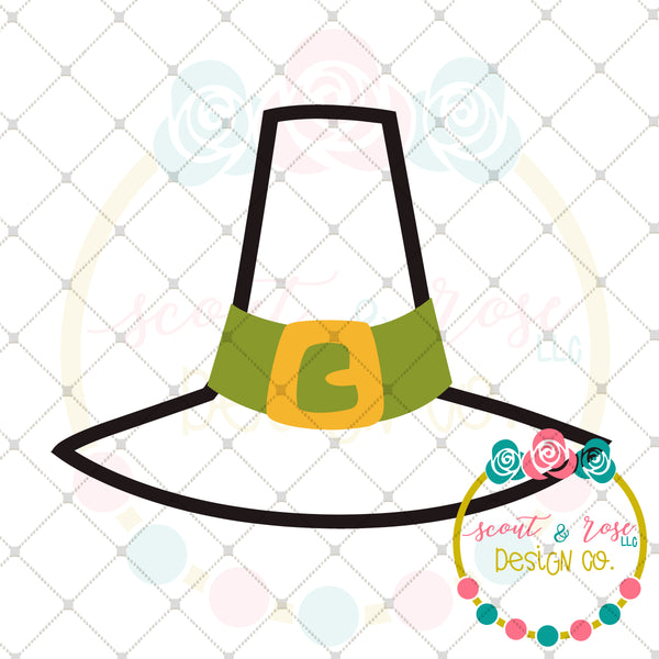 Thanksgiving Hat SVG DXF PNG
