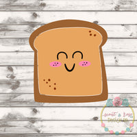 Toast Girl SVG DXF PNG