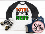 Total Book Nerd SVG DXF PNG (2019)