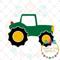 Kids Tractor SVG DXF PNG