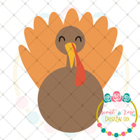Thanksgiving Turkey SVG DXF PNG