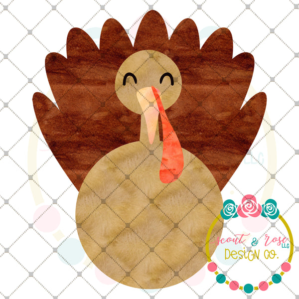 Turkey Printable Design