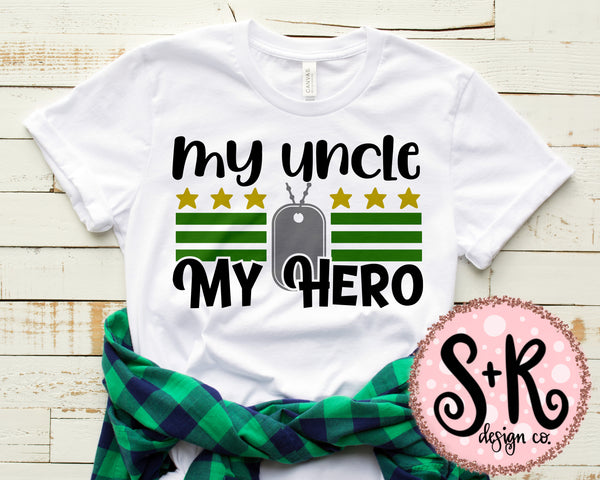 My Uncle My Hero SVG DXF PNG (2019)